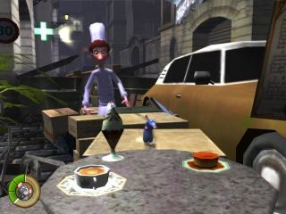 Speel als de rat Remy en help kok Linguini!