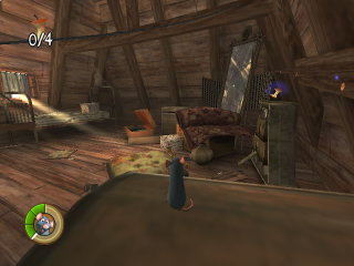 Ratatouille is een 3d-platformgame die het verhaal van de film volgt.