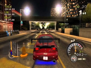 SRS Street Racing Syndicate: Screenshot