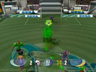 Sega Soccer Slam: Screenshot