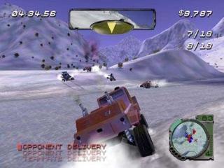 Dit spel bevat vele coole voertuigen.