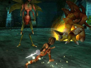 Sphinx and the Cursed Mummy: Screenshot