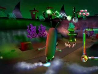 Er is zelfs een level waar je als een reusachtige plankton heel bikini broek kapot maakt!