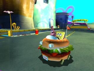 SpongeBob en zijn BMW (Burger Met Wielen).