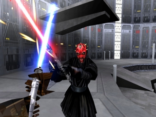 Ga het duel aan met de Sith.