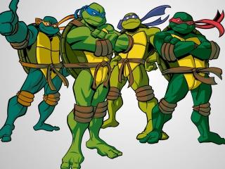 Speel als Raphaël, Donatello, Leonardo en Michelangelo in dit avontuur!