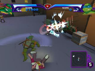 De game is een beat 'em up. Dit is dus een game vol actie en gevechten!