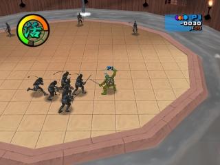 De grafische stijl van dit spel is gebaseerd op de gelijknamige tv-serie.