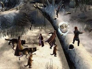 Verken het winterse fantasieland Narnia als Lucy, Peter, Susan en Edmund!