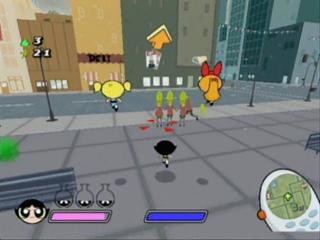 Di spel heeft leuke kleurrijke graphics net als de tekenfilms.