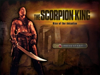 The Scorpion King: Afbeelding met speelbare characters