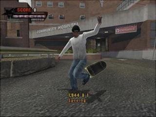 Moet je niet op je skateboard staan?