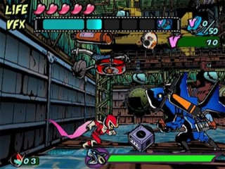 Viewtiful Joe: Screenshot