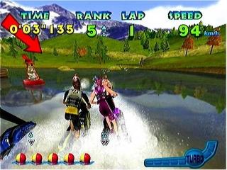 De watereffecten in dit spel zijn erg realistisch en passen perfect bij het spel.