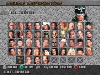 WrestleMania XIX: Afbeelding met speelbare characters