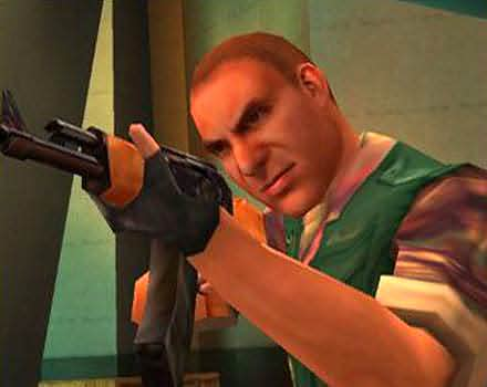 Agent Under Fire 007 heeft leuke filmpjes met veel wapens!