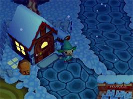 Net als in de echte wereld verandert het weer ook in Animal Crossing, in de winter sneeuwt het, in de lente zitten er bloesems in de bomen, in de zomer kun je bruin worden en in de herfst is het blad bruin en kun je paddestoelen zoeken.