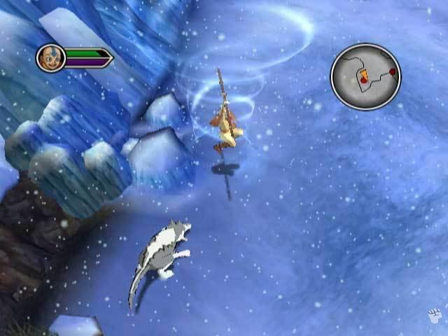 Je speelt ook in de sneeuw. Brrr!