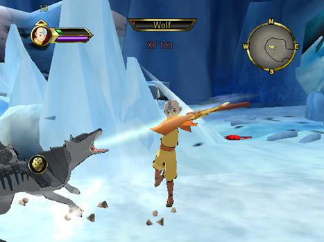 Speel als Aang en versla je duivelse vijanden!