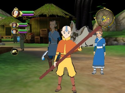 Avatar en zijn vrienden