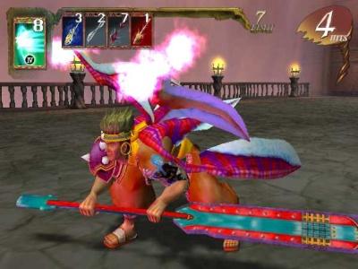 In dit spel zijn er verschillende personages met al hun eigen krachten