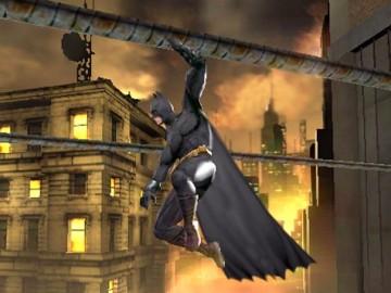 Batman hangt stil in de lucht!