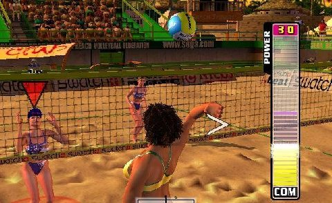 Met volleybal moet je op vele dingen letten zoals de hoeveelheid kracht van de slag of naar wie je past. Met deze game is dat wat moeilijker door de m... omgeving rondom je.