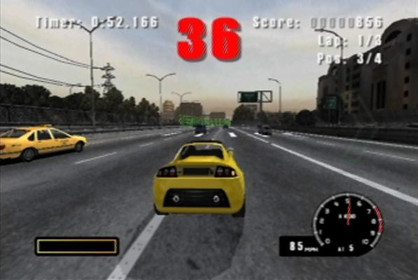 Baan je een weg door het verkeer en win de race!