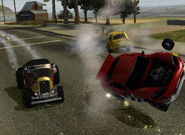 De crashes zijn zeer spectaculair!
