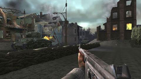 Lopen en Schieten in verwoeste steden, is het niet prachtig?