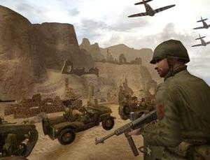 Soldaten, auto`s, tanks en vliegtuigen, wat wil je nog meer?