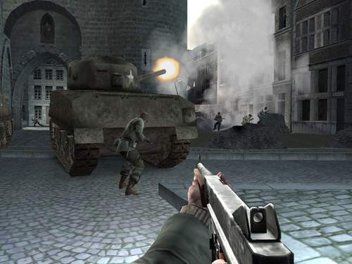 Bescherm de tank tegen de vele Duitse Bazooka`s