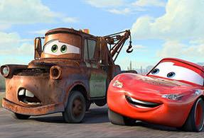 Mater en Lighting McQueen (stickers)