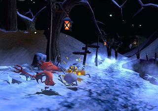 Gebruik Gregs vuur en Alicias ijs om door de wereld van de doden heen te komen!