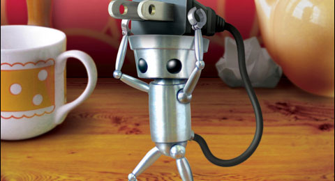 Je speelt met Chibi-Robo, dit robotje helpt de familie Sanderson in het huishouden. Als zijn batterij opraakt moet je deze bijvullen door zijn stekker in een stopcontact te stoppen.