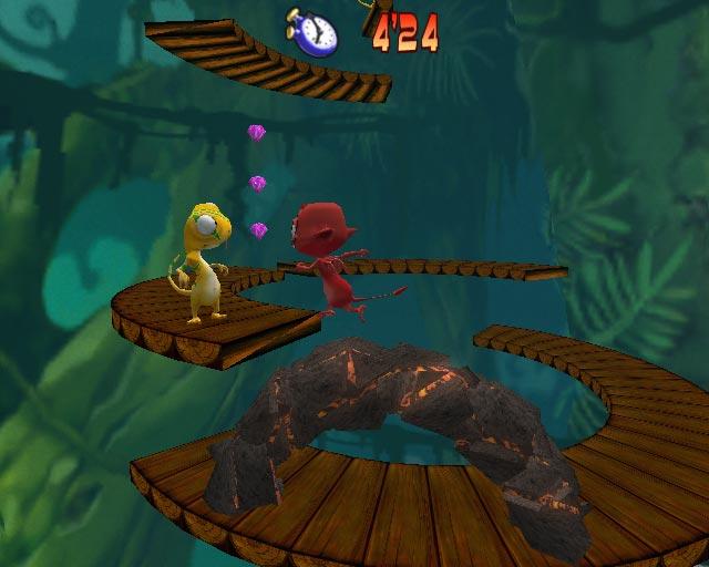 Cocoto Platform Jumper is verbazingwekkend makkelijk te besturen en is meteen leuk om te spelen!