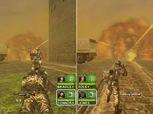 Vecht samen in de multiplayer mode.