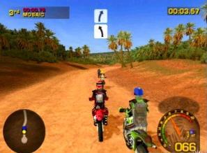 Scheur ook met je favoriete Crossmotor door de woestijn!