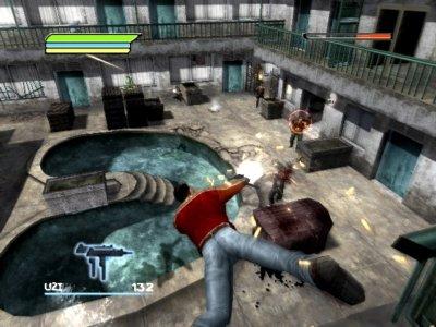 Je kan in slow-motion duiken, om zo makkelijker op je vijanden te schieten.