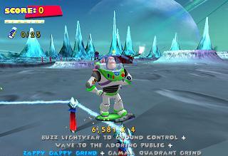 Buzz lightyear wil ook aandacht
