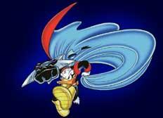 Donald Duck als Superheld