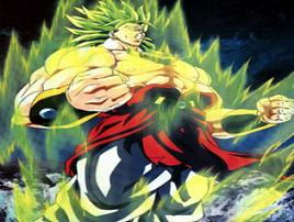 Broly, de legendarische Super Saiyan.