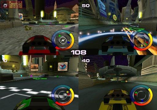 Race met 4 spelers tegelijk in de gaafste lego auto`s.