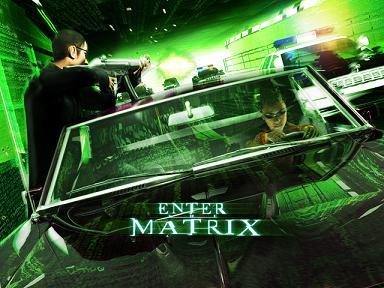 De fans van Matrix reloaded zullen de stukjes film zeer waarderen.
