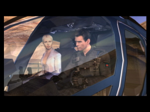 James Bond en zijn `trouwe bondgenoot` dokter Nadanova.