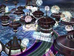 De bekende banen zitten er ook weer in, op dit plaatje zie je Mute city.