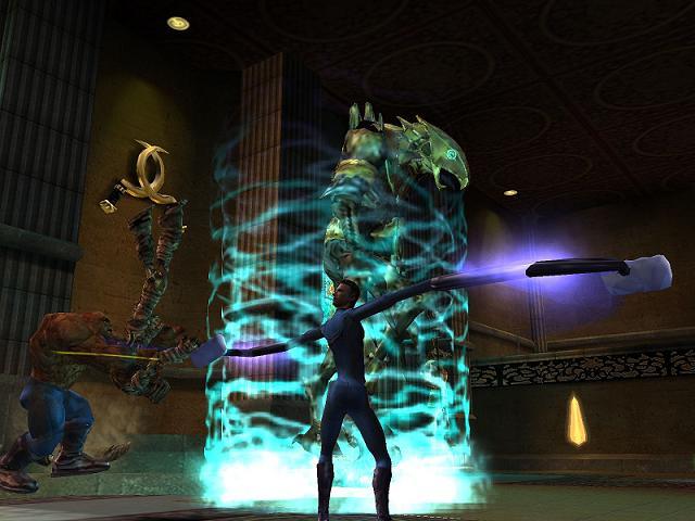 Je kunt spelen als een van de Fantastic Four (Mr. Fantastic, Invisible Woman, The Thing, and Human Torch).