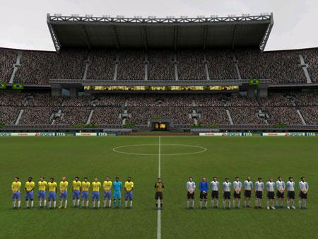 Let op het stadion, dit is echte geschiedenis!!