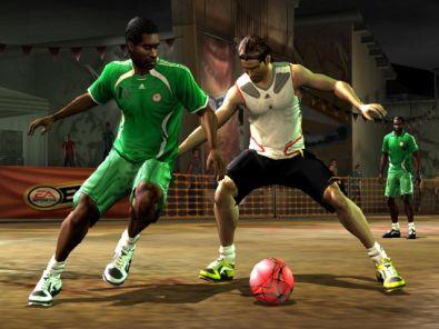 Voetbal op straat, alleen voor échte vakmensen!