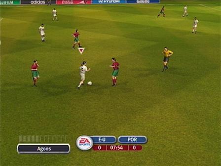In dit spel spelen de Portugezen gelukkig wel volgens de regels.